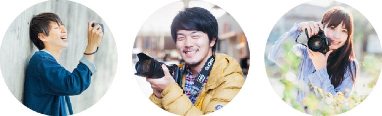 人気のプロカメラマン